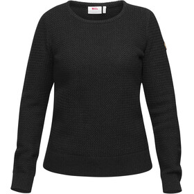Fjällräven Övik Structure Sweater Women Dark Grey